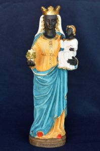 Statuetta della Madonna di Oropa