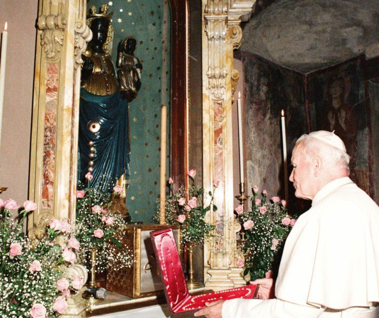 Giovanni Paolo II a Oropa