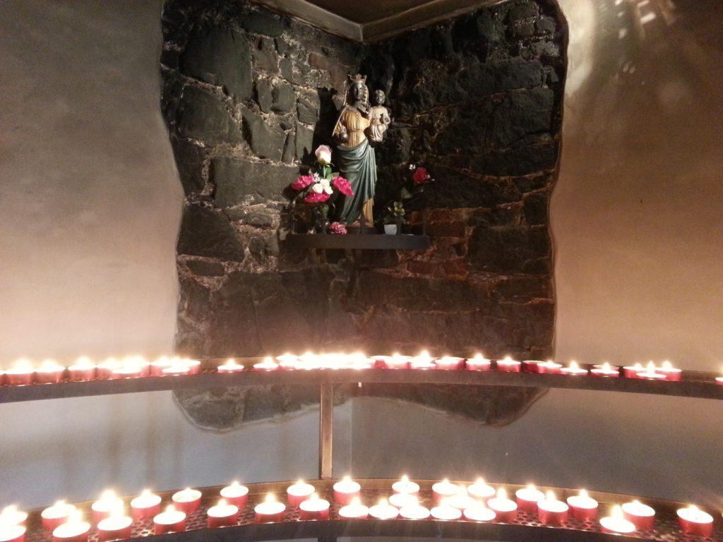 incendi alla cappella dei lumini