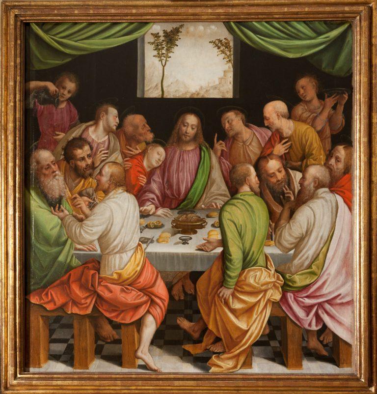 L'Ultima Cena di Bernardino Lanino