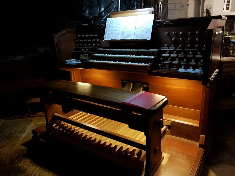 Organo della Basilica Antica del Santuario di Oropa
