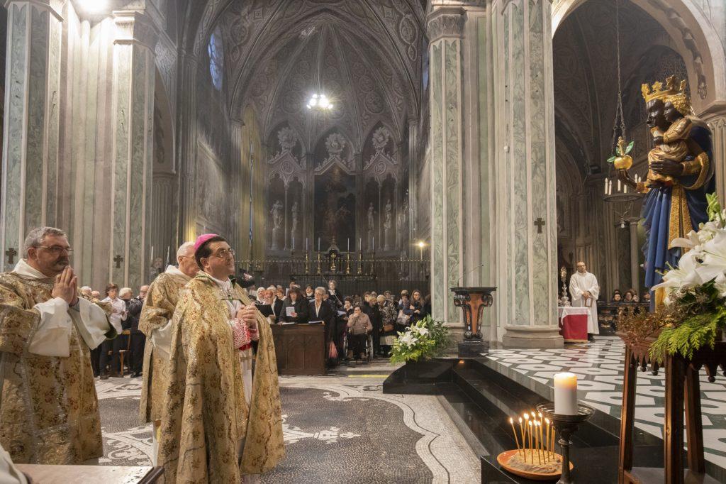 Indizione anno mariano oropense