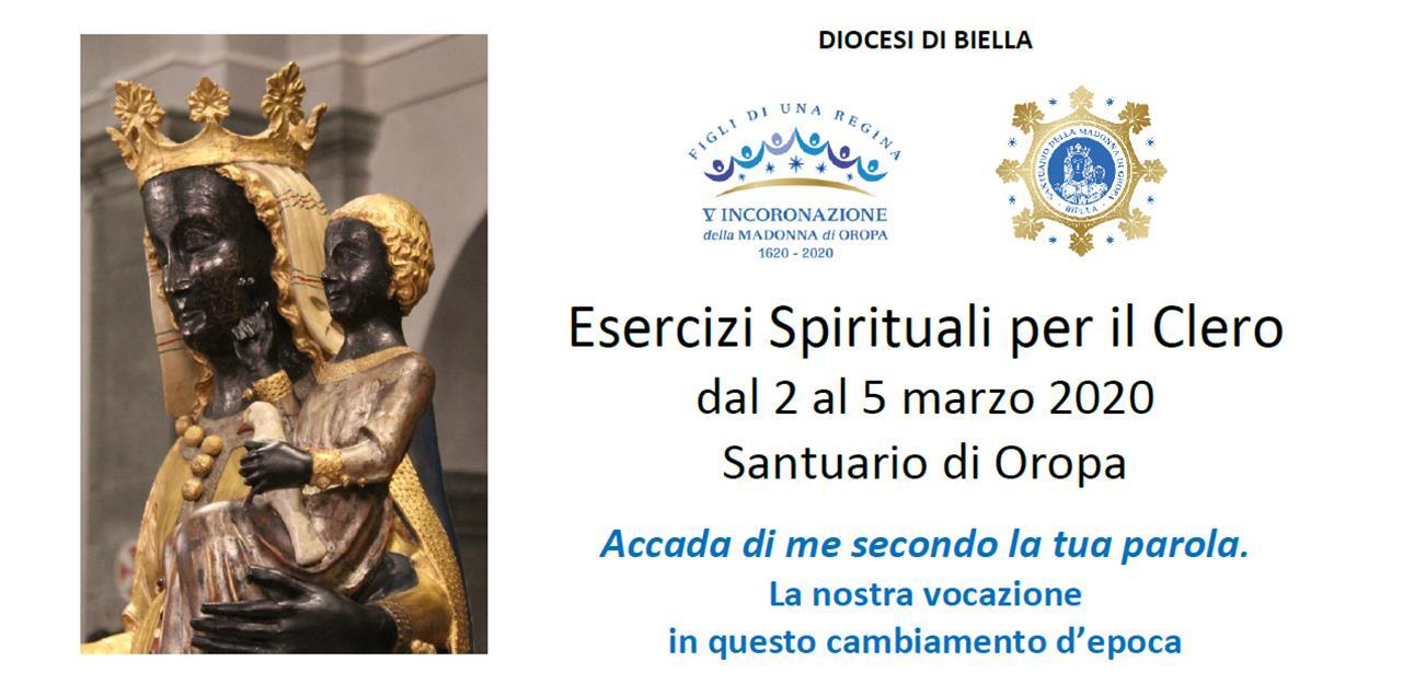 esercizi spirituali per il clero a Oropa