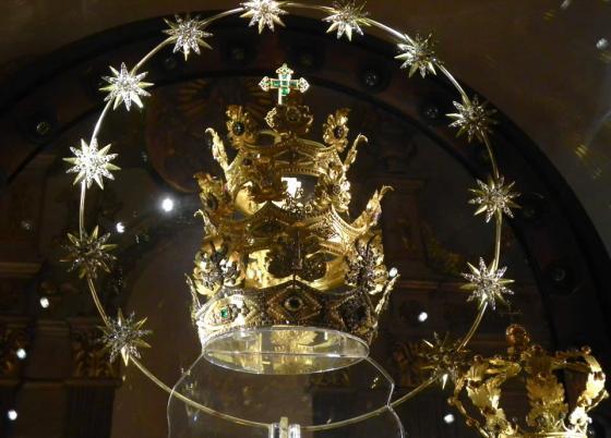 Corona della Madonna di Oropa del 1920