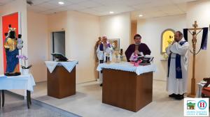 Madonna Oropa ospedale biella
