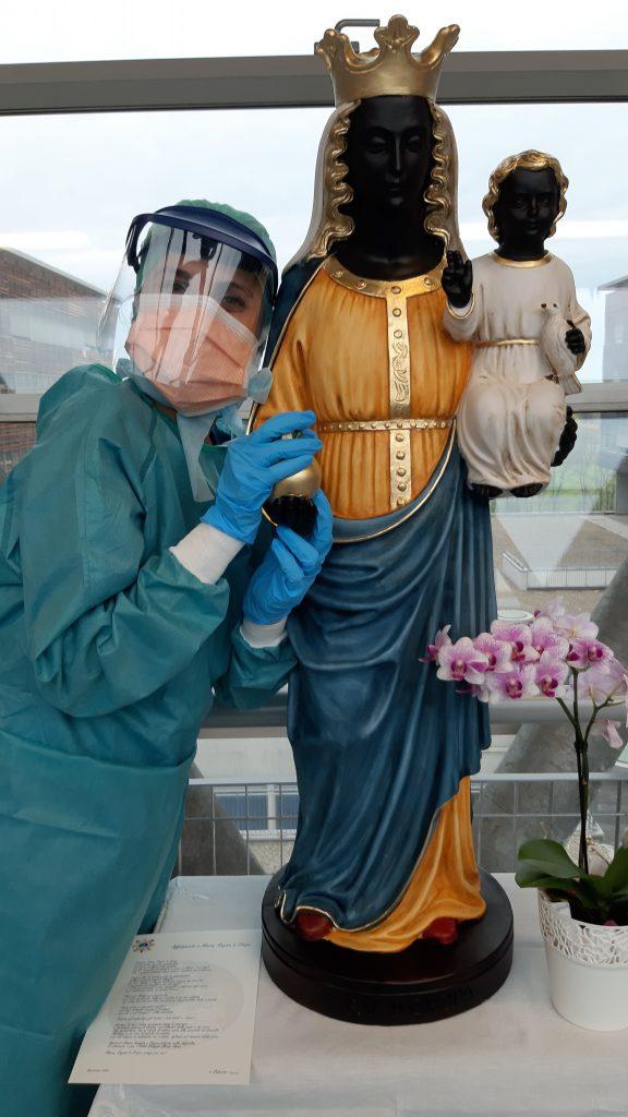 coronavirus dottoressa ospedale di Biella e Madonna di Oropa