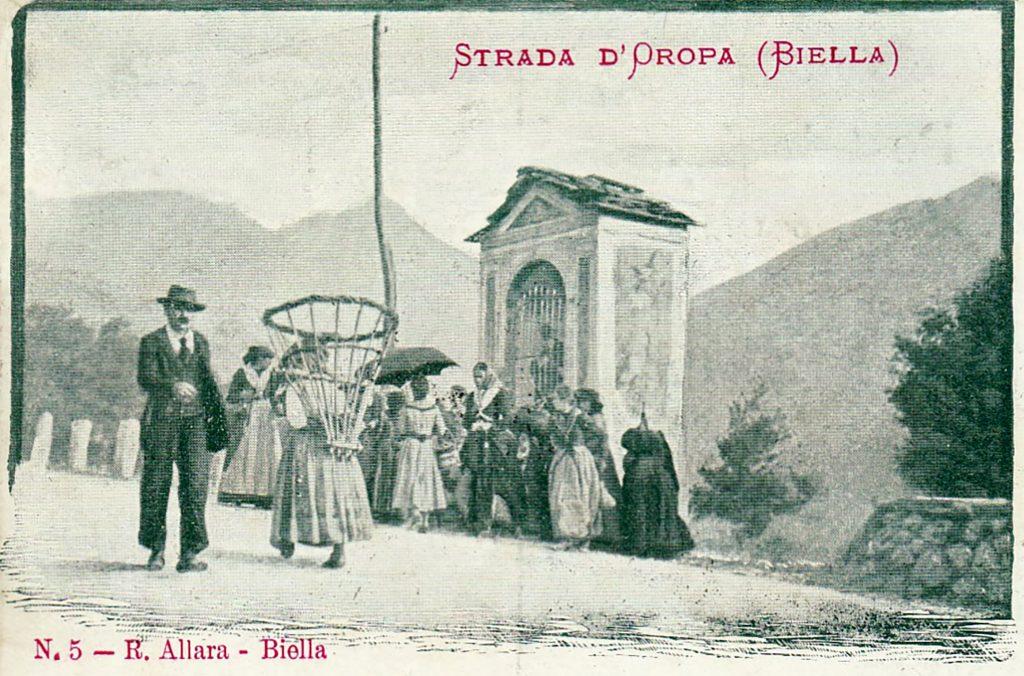 strada santuario di oropa