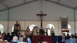 Vescovo di Biella a Oropa