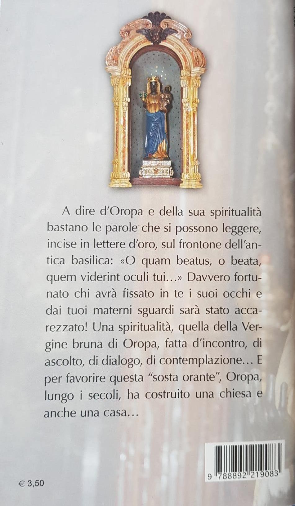 La Vergine Bruna di Oropa libro