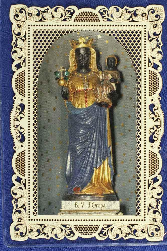 immaginetta Madonna di Oropa
