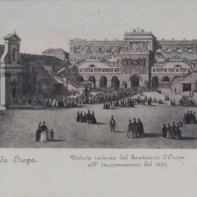 Incoronazione Madonna di Oropa 1820