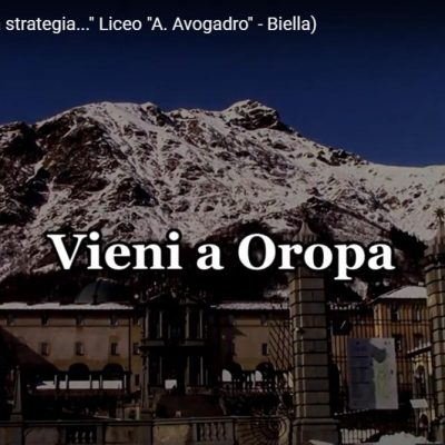 cambia strategia. Vieni a Oropa