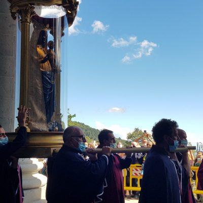 Madonna di Oropa 30 agosto 2020