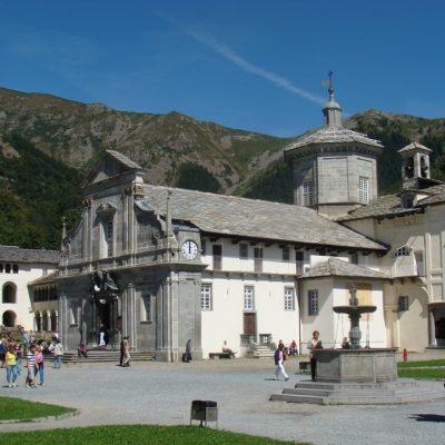 Oropa basilica Antica